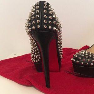 Christian Louboutin Shoes - Christian Louboutin Black spike heel